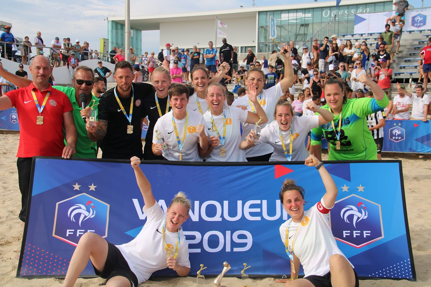 France : Le Grand Calais sacré champion de France de beach soccer