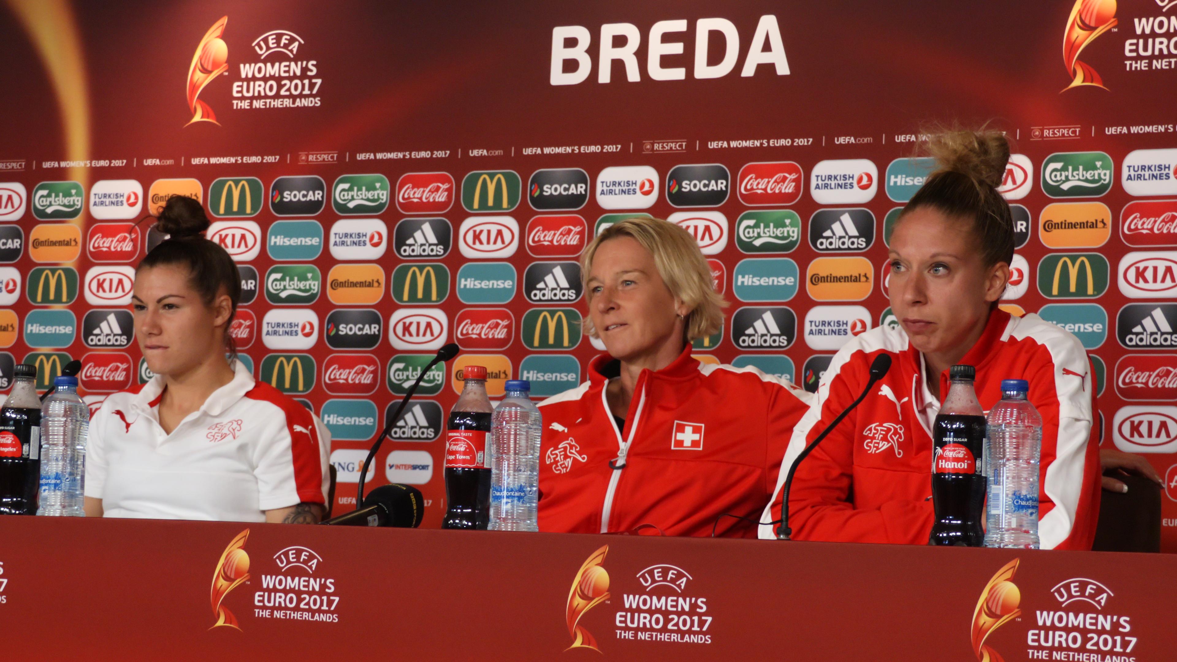 """Conférence de presse Suisse : """"Nous avons un grand et très ..."""