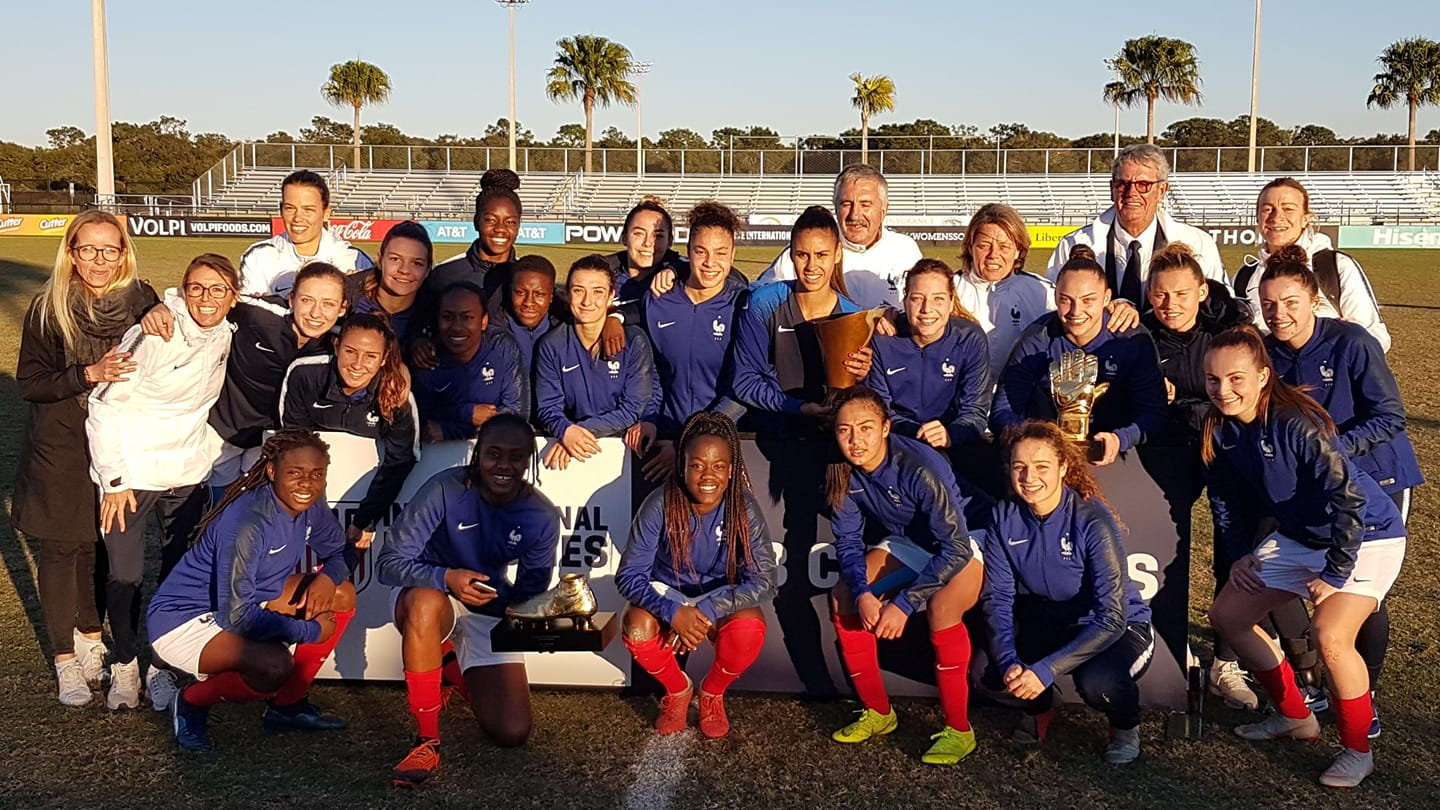[Nike Friendlies] France - Chine (3-1) : Les Bleuettes U19 championnes du tournoi amical