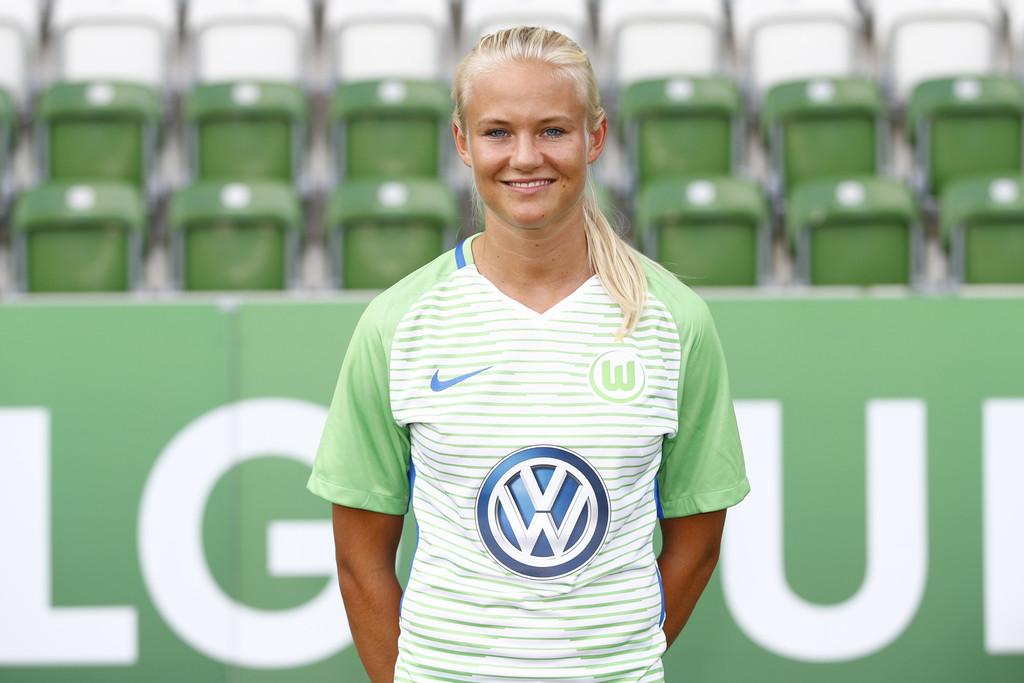 Frauen Bundesliga : Pernille Harder jusquen 2020 avec