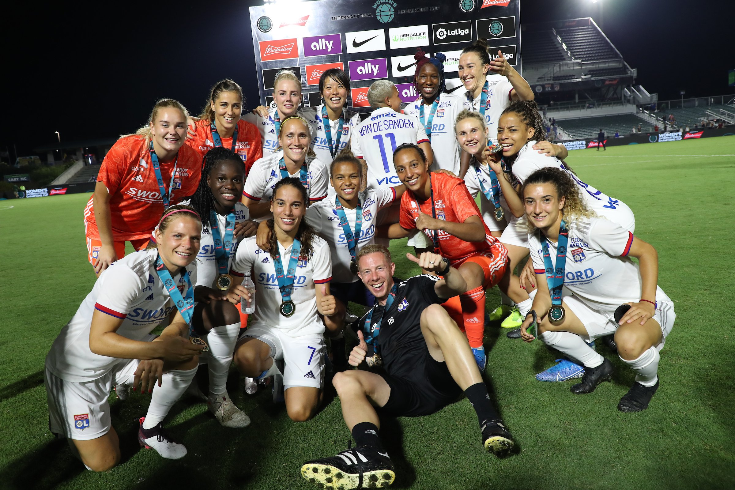International Champions Cup 2019 : Lyon s'impose en finale face au North Carolina Courage