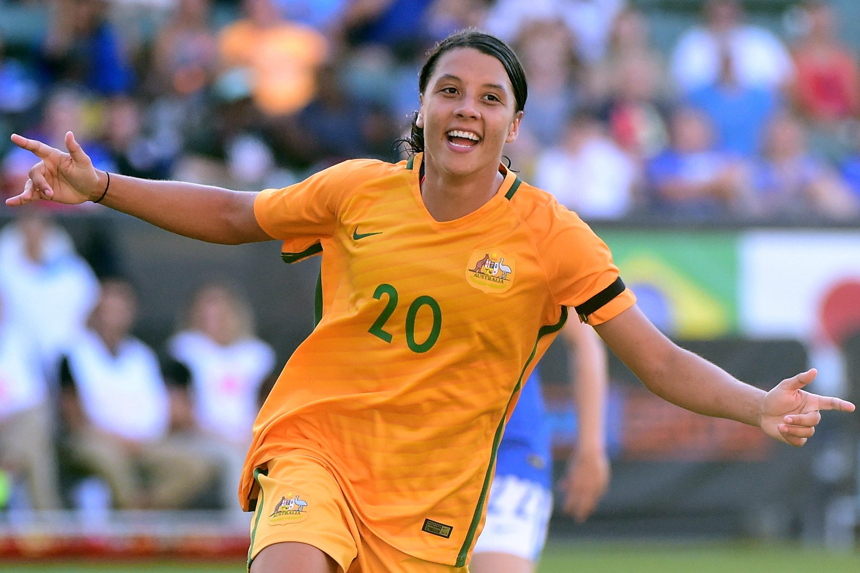 Samantha Kerr, nouvelle égérie de Nike en Australie