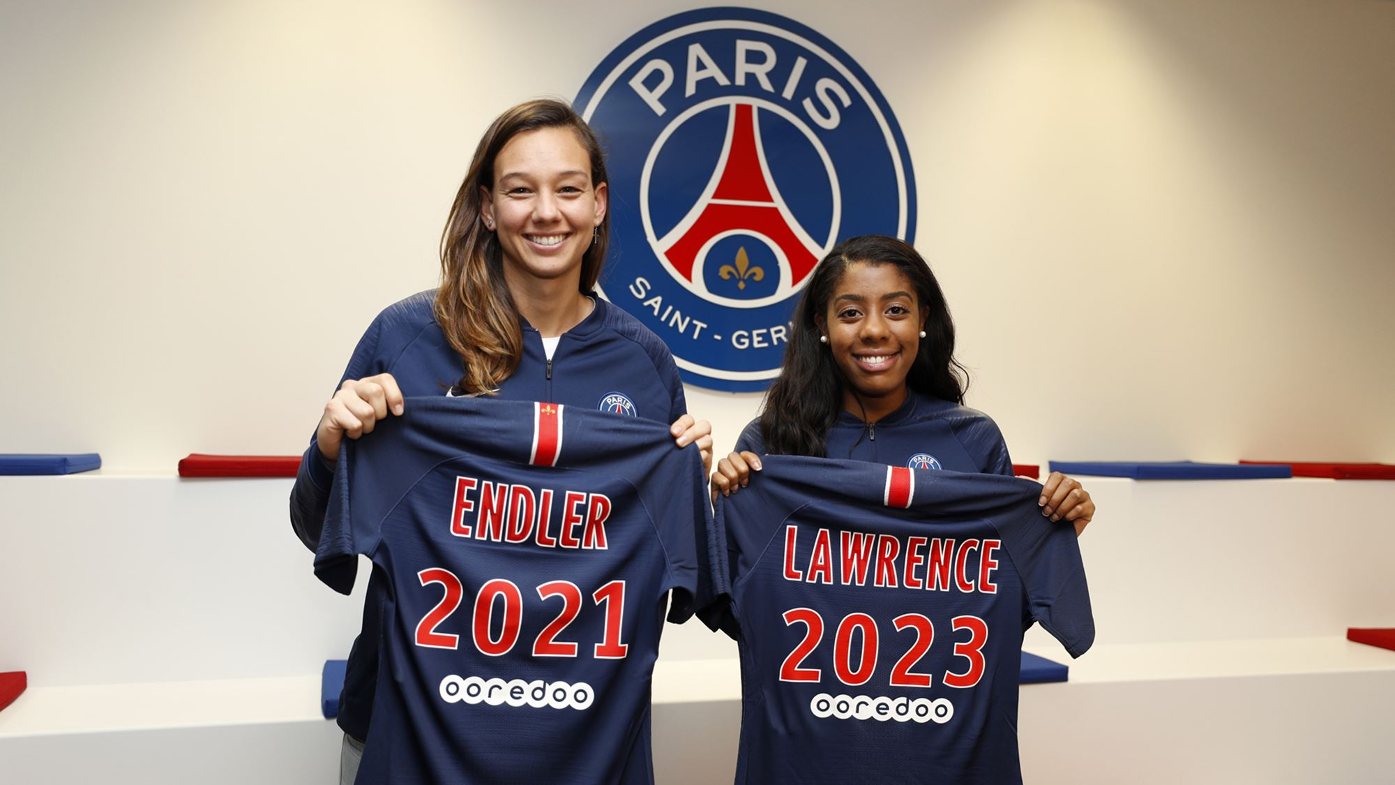 D1 : Christiane Endler et Ashley Lawrence prolongent leurs contrats avec le PSG