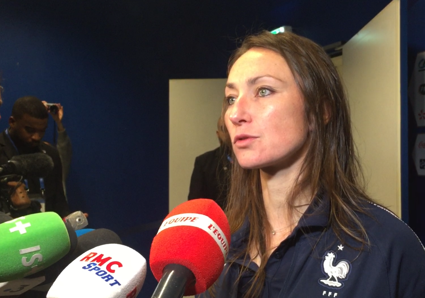 Gaëtane Thiney (Bleue) : « Un apprentissage de ce qu'on va vivre à la Coupe du Monde »