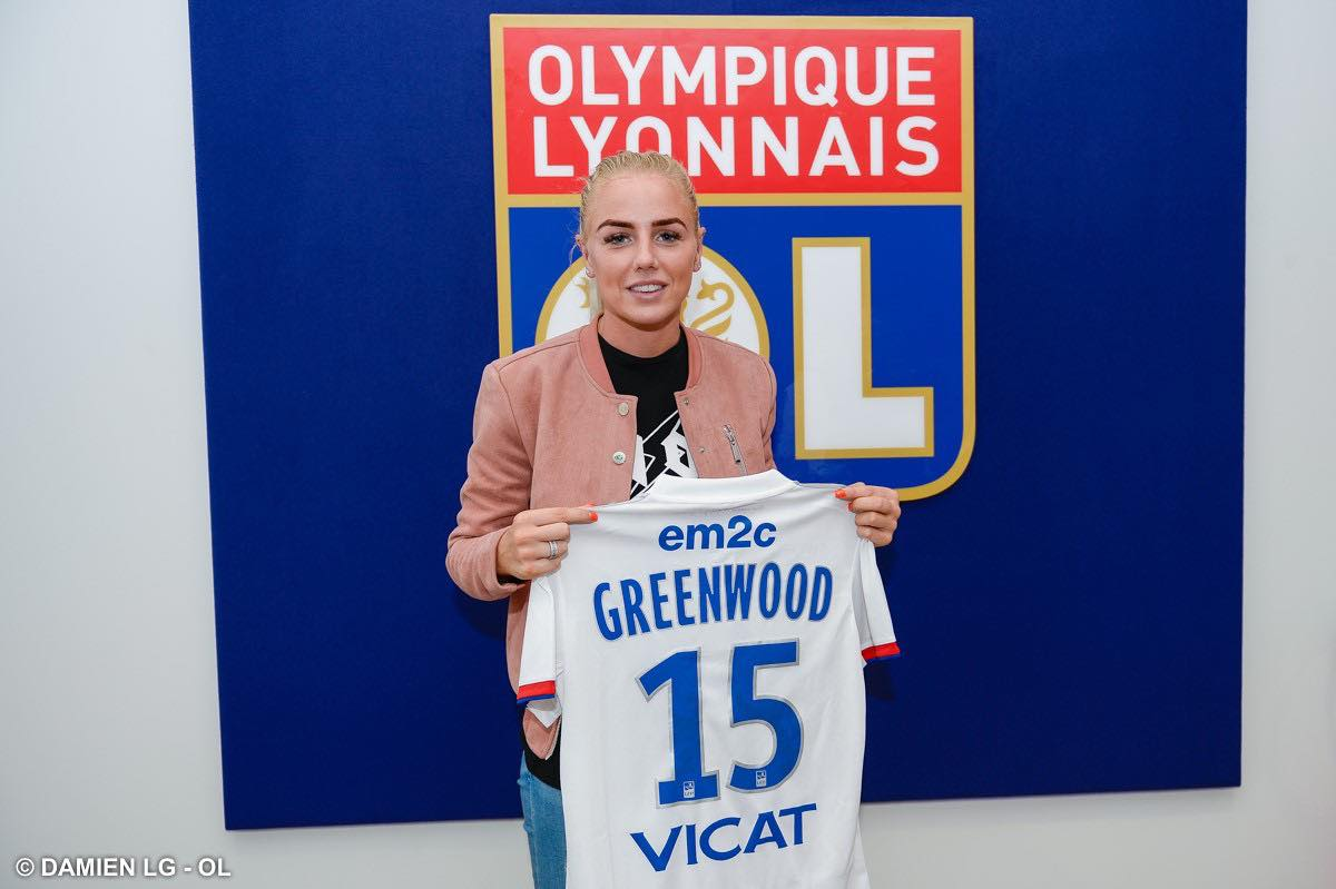 D1 Arkema : L'internationale anglaise Alex Greenwood signe à l'Olympique Lyonnais