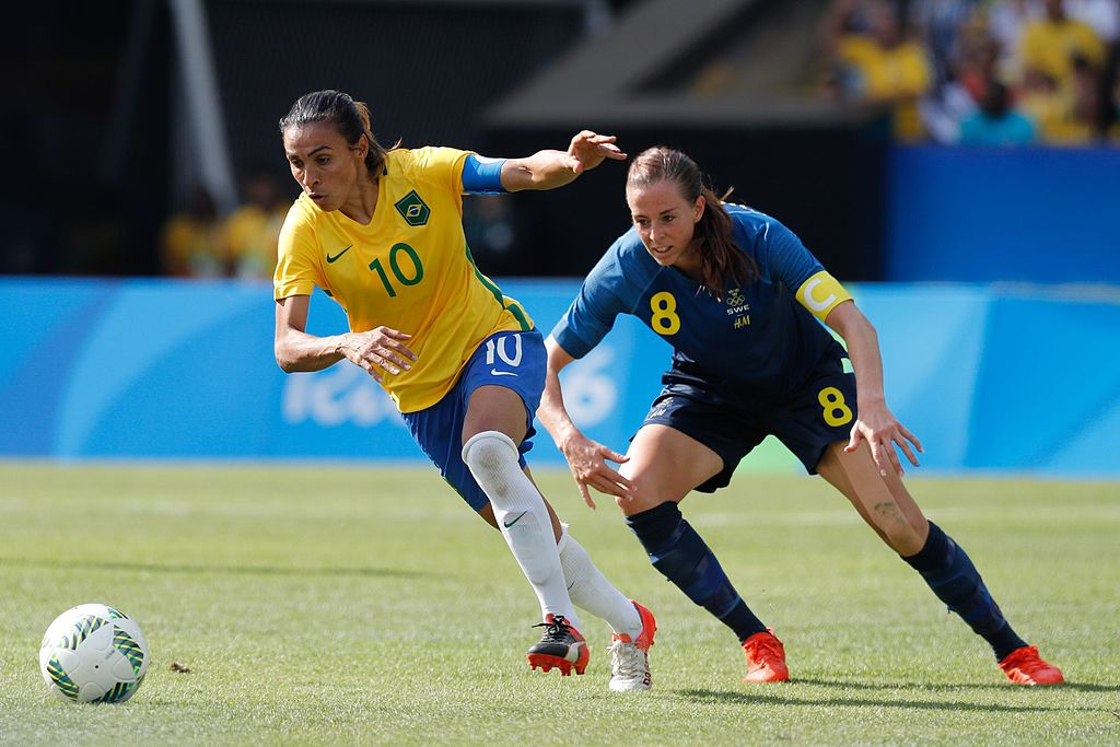 L'attaquante Marta introduite au Hall of Fame du football brésilien